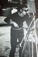 Photograph of Andy Warhol Filming, at the Factory, by Billy Name, Audart