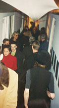 Crowd at the Opening For Ten Years After: The Warhol Factory at Audart